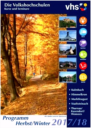 VHS Kulmbach Herbst Winter 2017 18 by Stadt Kulmbach issuu