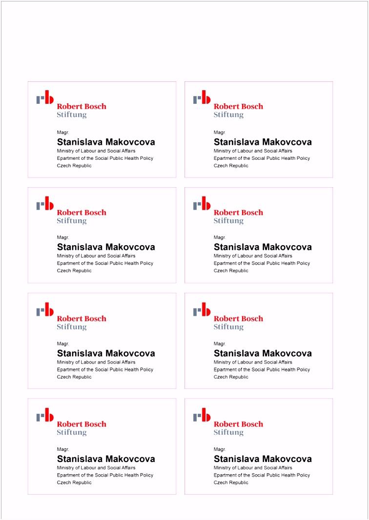 Veranstaltungen Robert Bosch Stiftung für Neueste Namensschilder