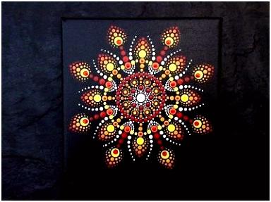 Baumstamm Bemalen Vorlagen Mandala Bild Leinwand Handbemalt Und Wunderschön Mandala Stein G4ov94wsb3 L6ib55ugxh