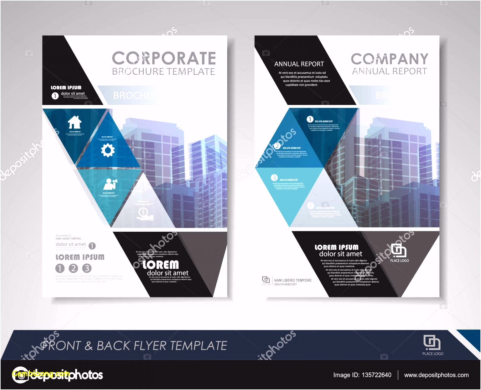 Illustrator Brochure Templates Forolab4
