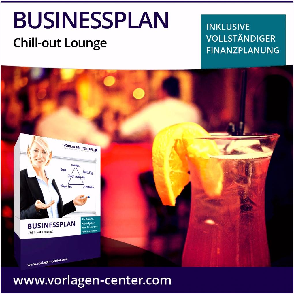 Businessplan Paket Chill out Lounge Erfolgreich gründen