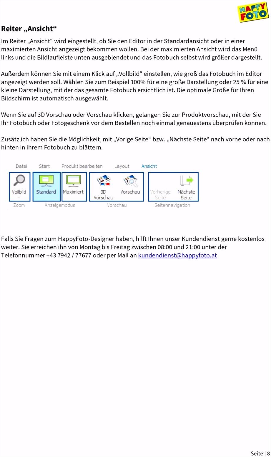 HappyFoto Designer 5 4 Wichtige Funktionen und Gestaltung PDF
