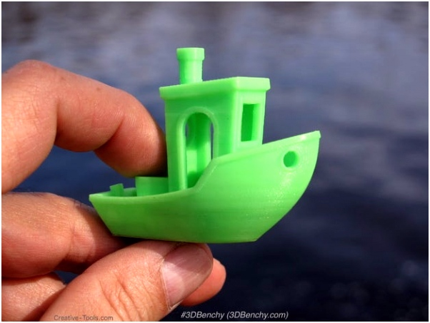3DBenchy The jolly 3D printing torture test by CreativeTools by