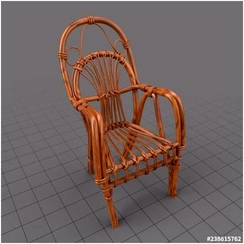 Special Concept 3D Armchairswicker Armchair 3D Model – adaziaireub