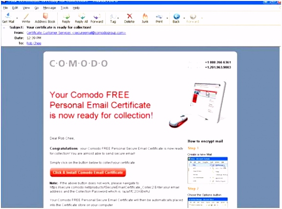 E Mail Signatur Privat Using Smime for Email Security Netcraftsmen