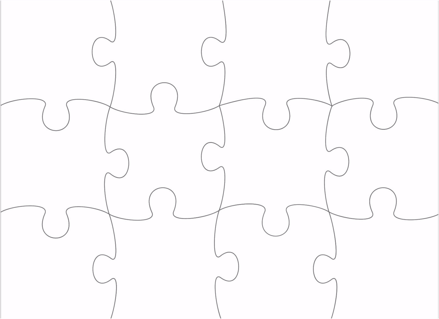 Puzzle Vorlage Drucken
