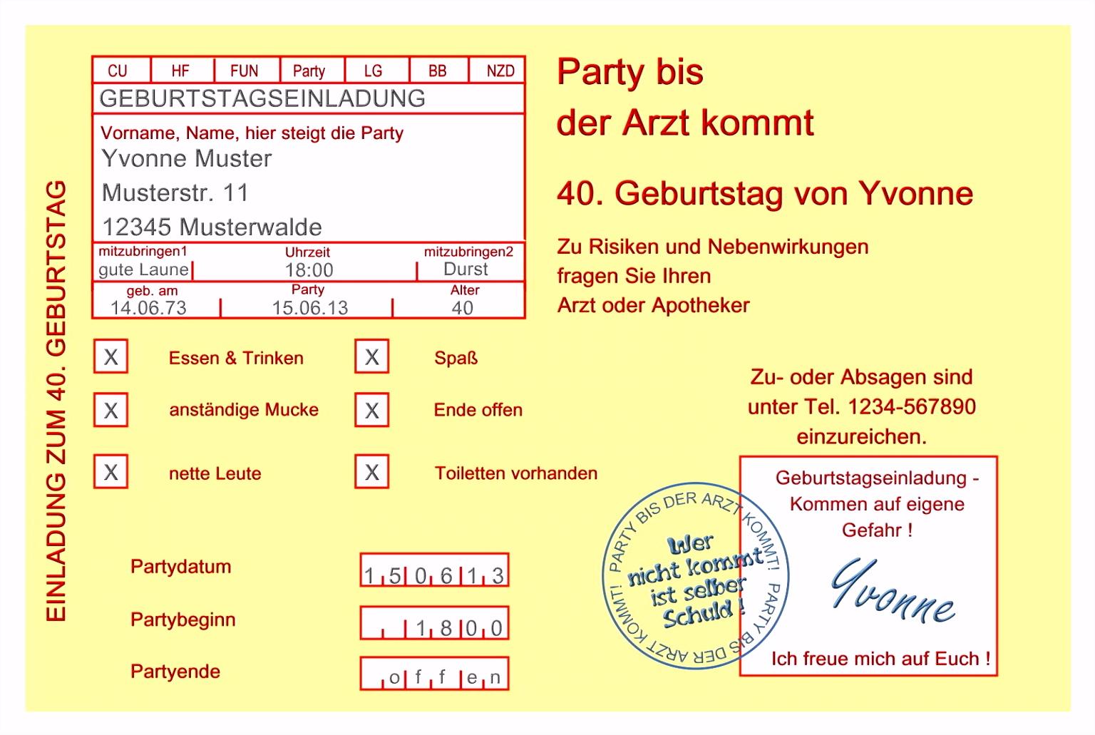 Einladungstexte 60 Geburtstag Kostenlos Schön Einladung Zum 60
