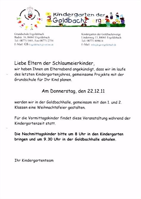 5 elternbrief kindergarten vorlage sampletemplatex1234. Black Bedroom Furniture Sets. Home Design Ideas