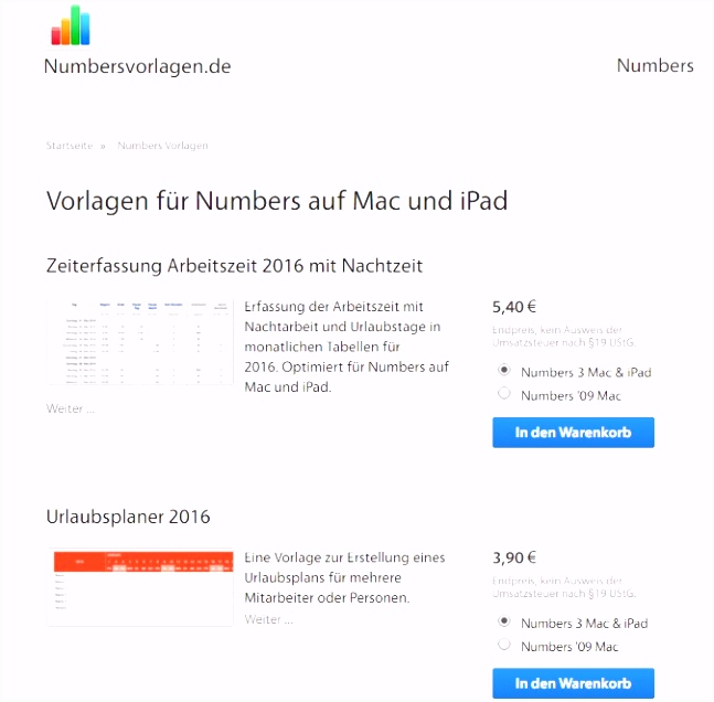 Numbers für Mac OS Hier finden Sie Vorlagen zum Download CHIP