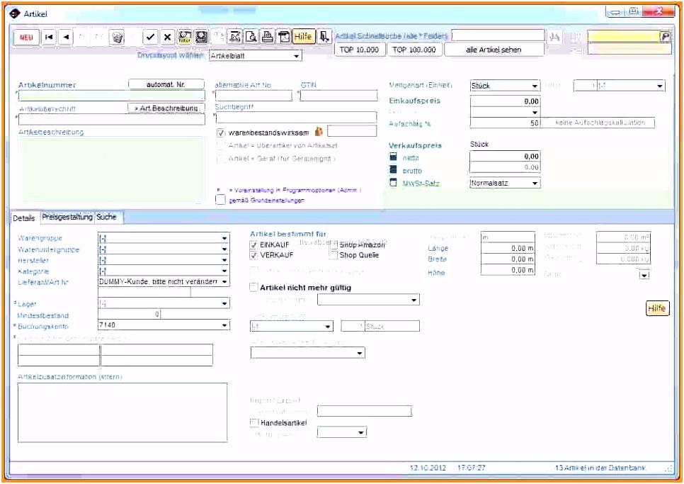 13 Access Vorlagen Kundenverwaltung