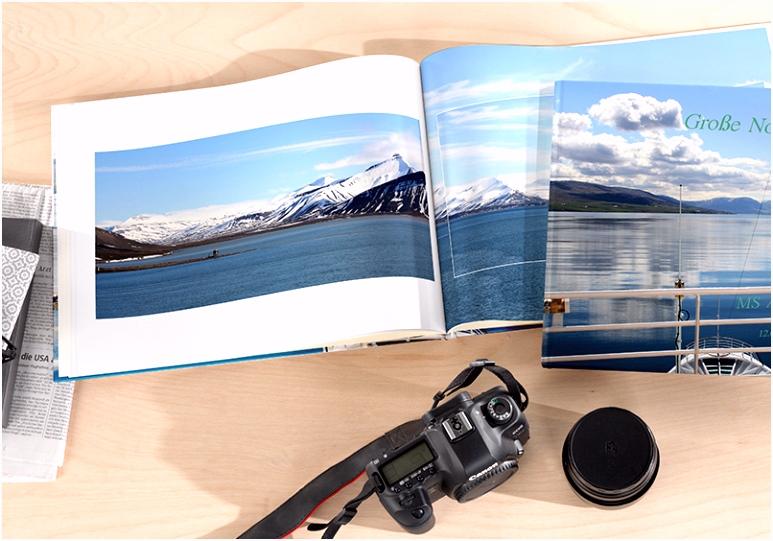 Urlaubsfotobuch Reise Fotobücher selbst gestalten