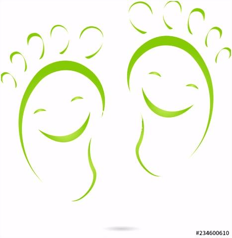 Fuspflege Visitenkarten Vorlagen Füße Lächeln Physiotherapie Podologie Fußpflege Logo T3ue26fmd1 Tstxhuhdqu
