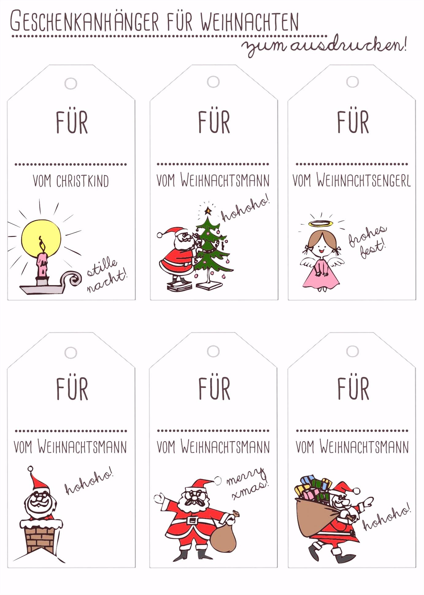 Einfach Geschenkkarten Zum Ausdrucken Kostenlos Weihnachten Pujcka