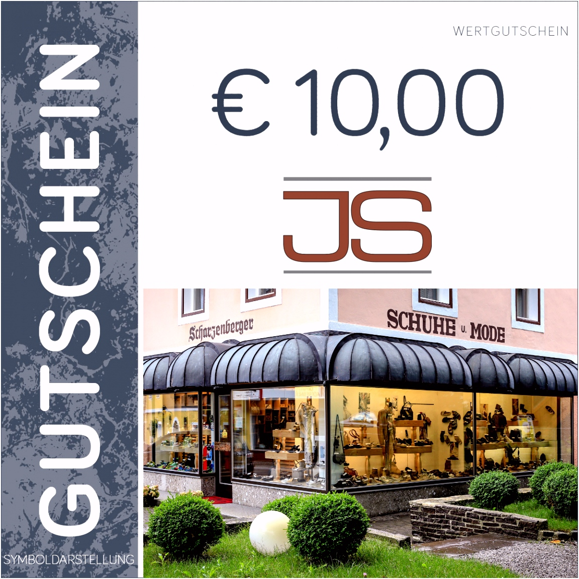 10 Euro Gutschein Schuhhaus Scharzenberger