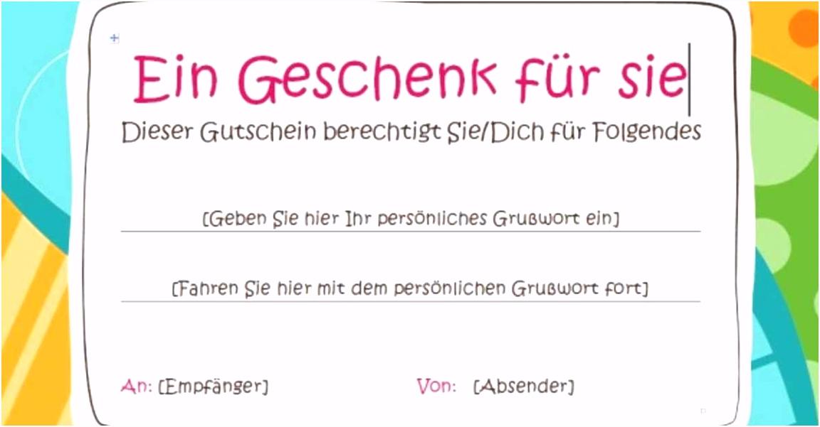 51 Gutschein Design Vorlage
