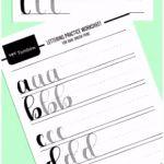 6 Handlettering Vorlagen Kostenlos