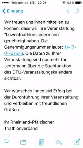 Löwentriathlon News