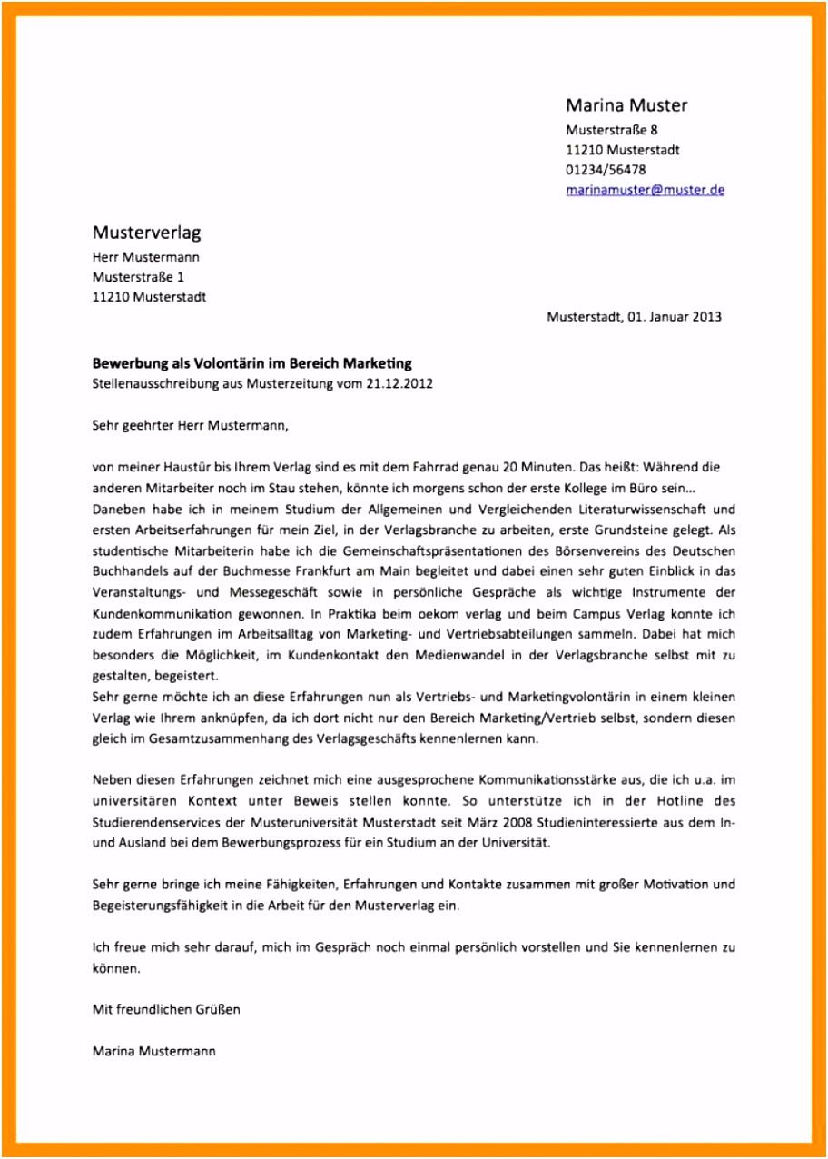 Brilliant Initiativbewerbung Staatlich Geprüfter Techniker