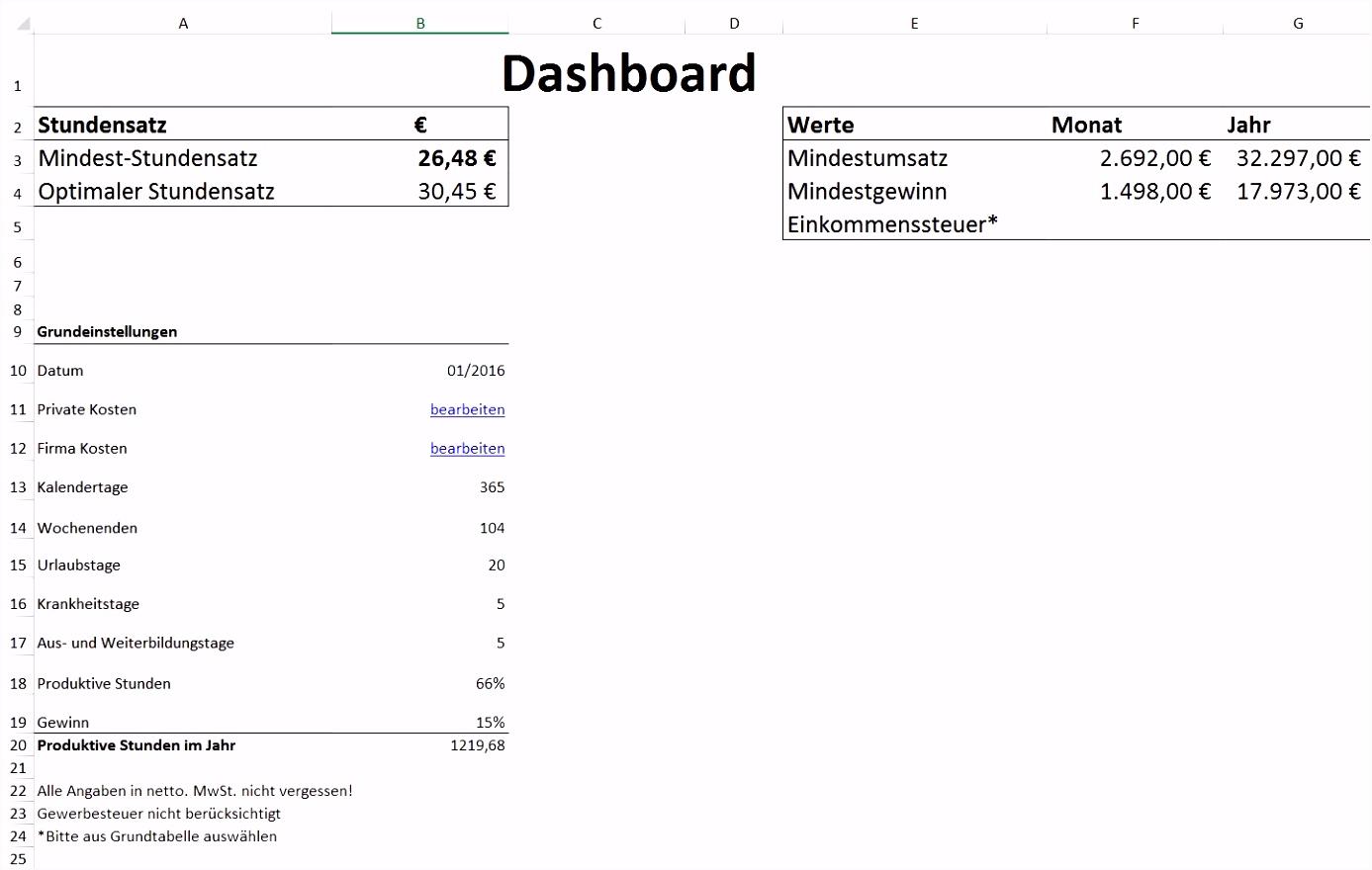 Hausbau Kosten Kalkulieren Excel Galerien Excel Vorlage