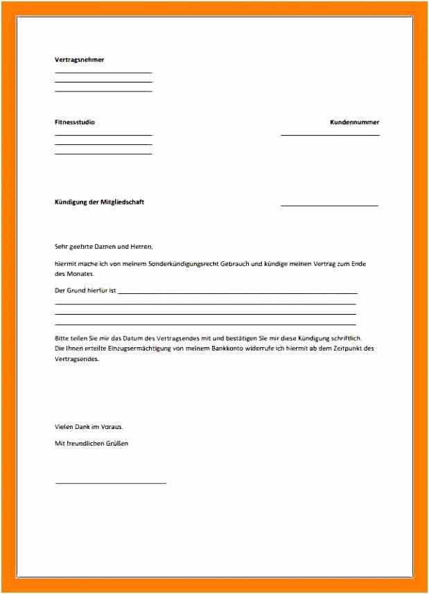 Kundigung Bankkonto Vorlage 12 Muster Kündigungsschreiben Fitnessstudio K9er53kaf8 Rumch6djg2