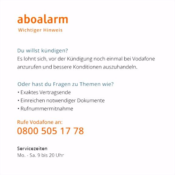 Vodafone Handyvertrag Direkt line KndigenTonline Kündigung Vorlage