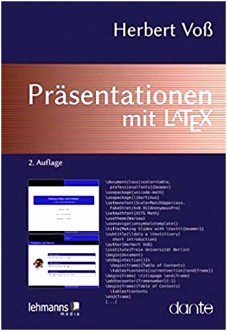 Latex Prasentation Vorlage Präsentationen Mit Latex Herbert Voß Amazon Bücher M3up68v4e6 L4hh55sls6