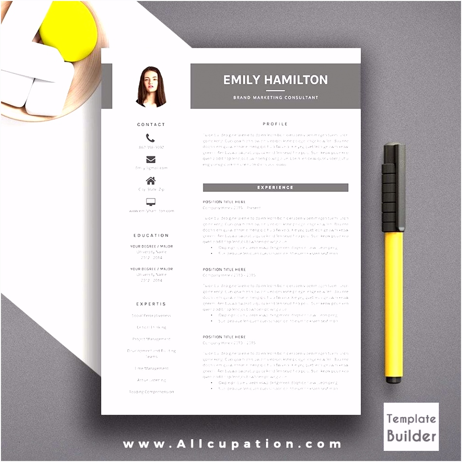70 Creative Resume Design Free Download