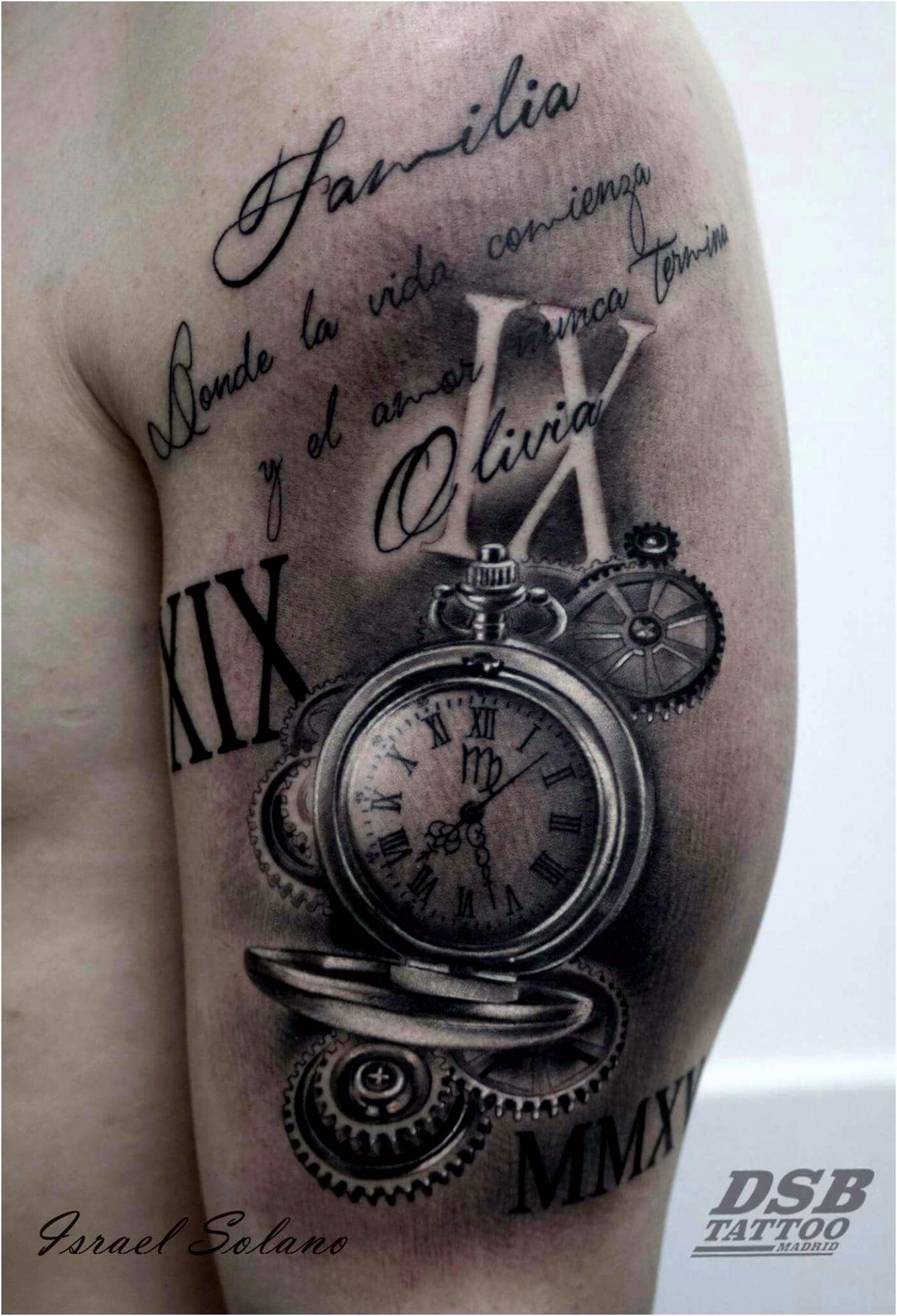 3d Tattoo Löwe