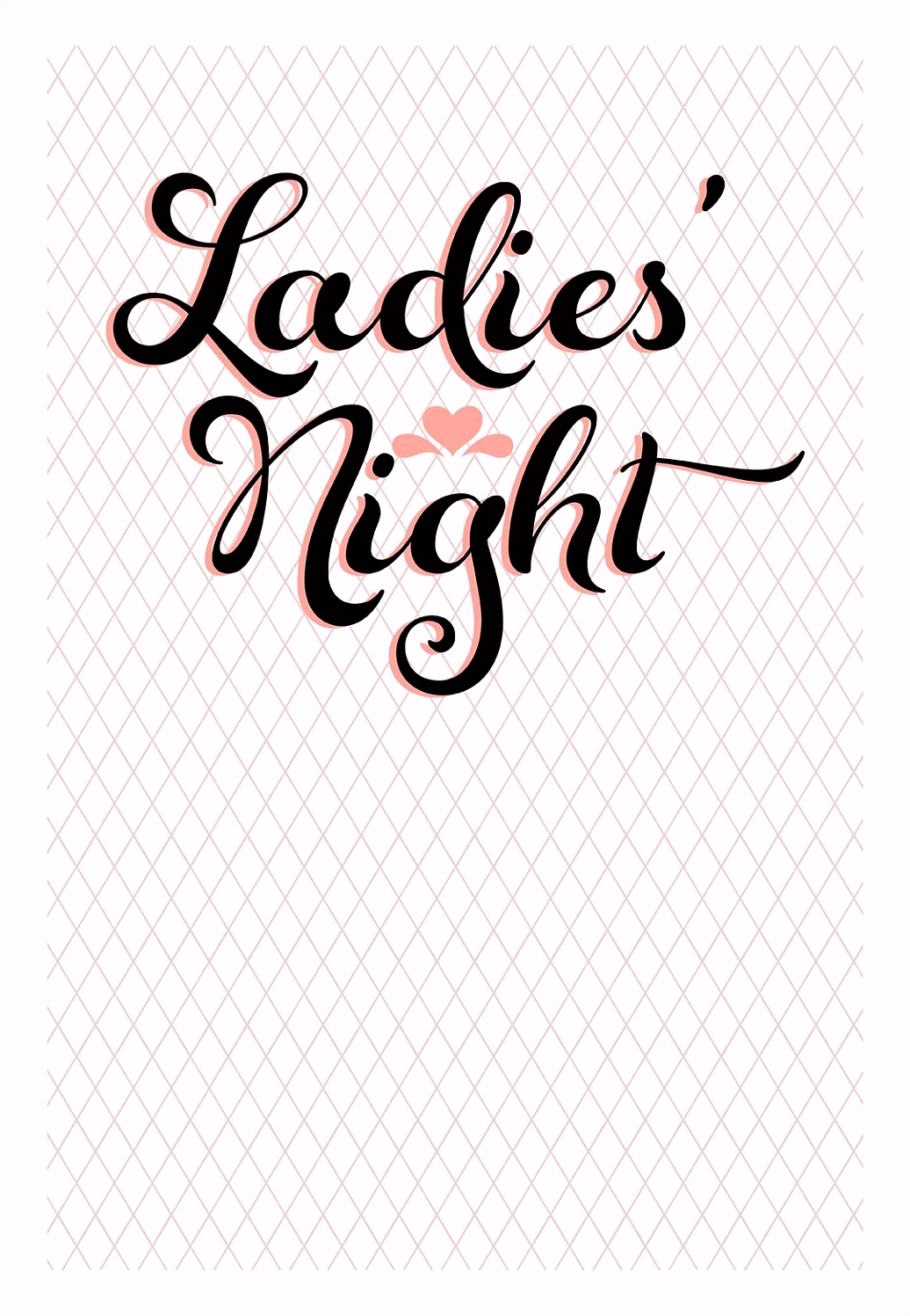 Madelsabend Einladung Vorlage La S Night Bridal Shower Invitation Template Free H4ee98wdk8 O6mg64hky6