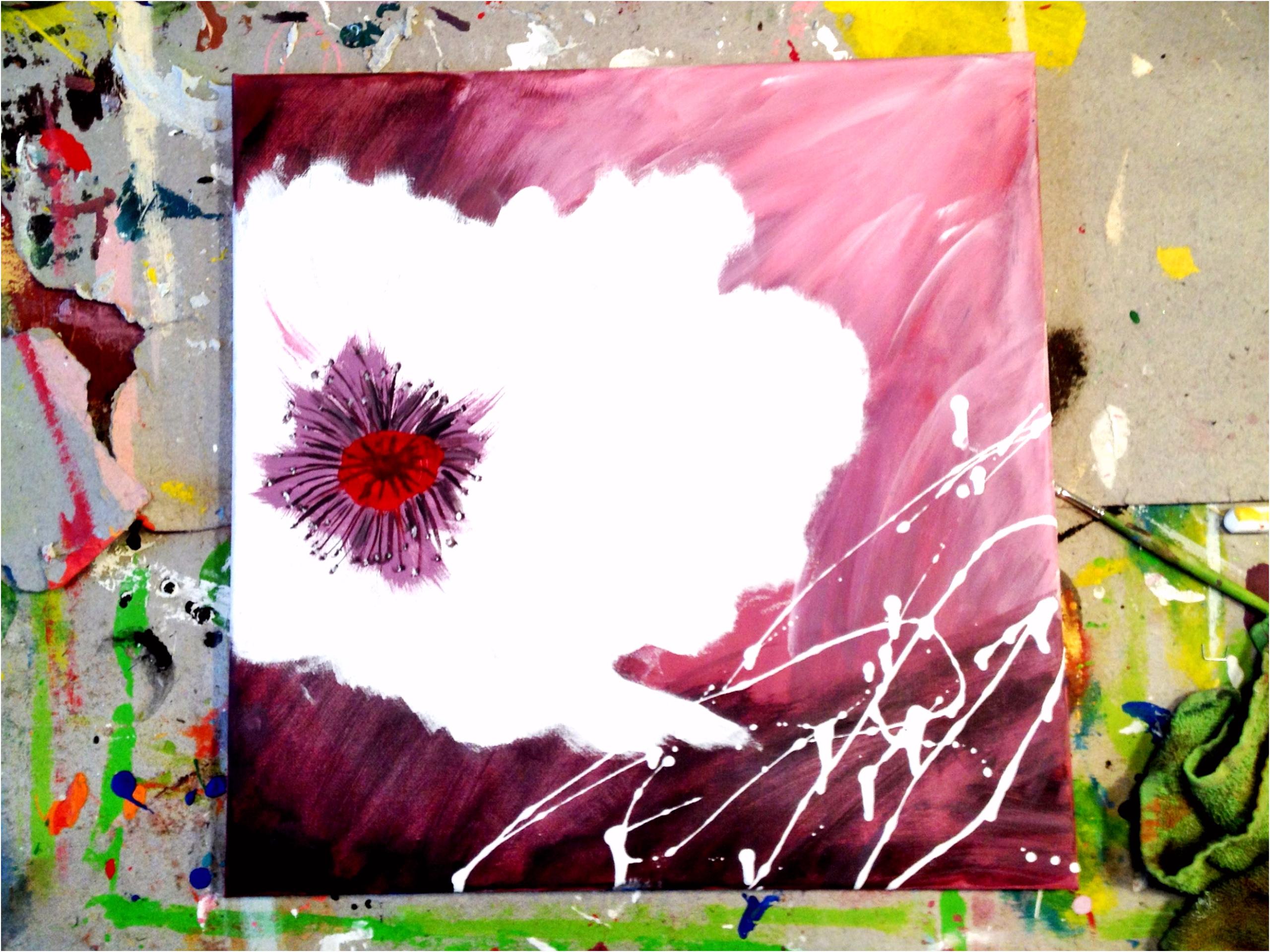 Malen Auf Leinwand Vorlagen Leinwand Gestalten Mit Acryl Y6tu43jas9 Quzd56hps4