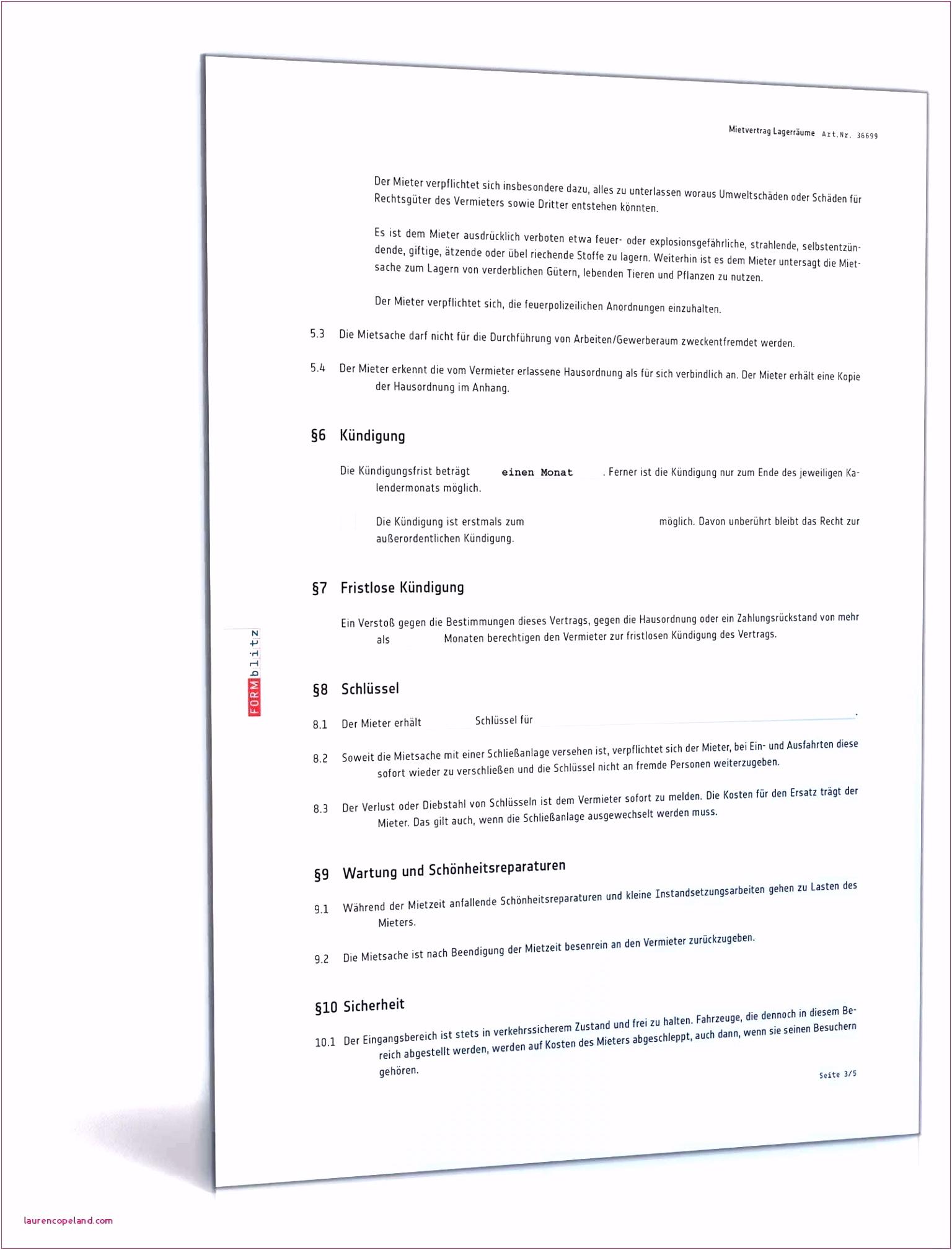 55 Mietvertrag formlos Vorlage laurencopeland