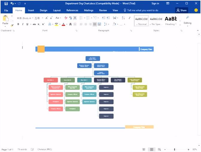 Organigramm Beispiele kostenlos herunterladen