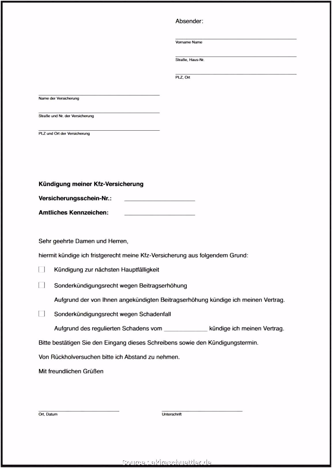 Kündigung Mietvertrag line Ausfüllen