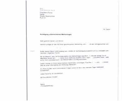 Neueste Kündigung Mobil Debitel Mail Kündigung Vorlagenidee