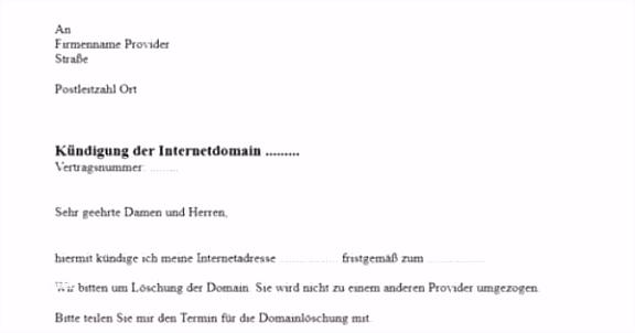 100 Späteste Kündigung Telekom Vorlage Word Inspiration