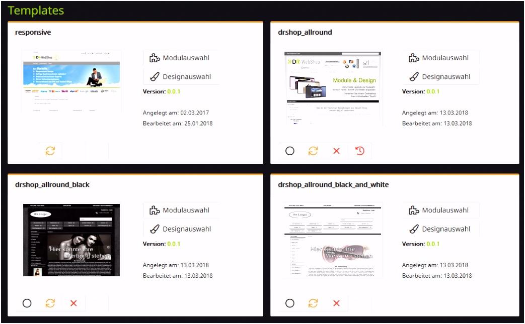 DR WebShop Neu – DreamRobot Wiki
