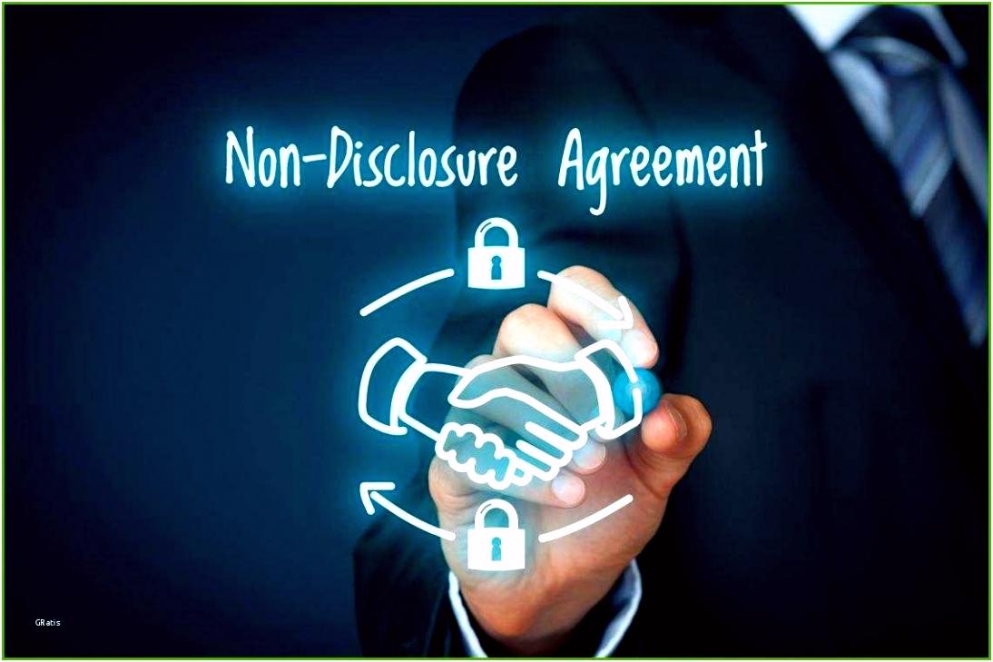 1 Hervorragen Geheimhaltungsvertrag Vorlage Kostenlos Für Sie
