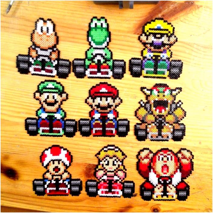 Paw Patrol Bugelperlen Vorlage Super Mario Kart Bead Super Mario Kart Hama Beads by Yurekart P8od10dtf8 Hmbxs2bxav