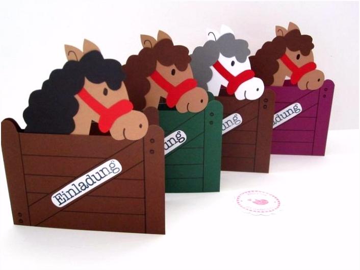 Geburtstagseinladung Kinder Vorlage Kostenlos Pferde