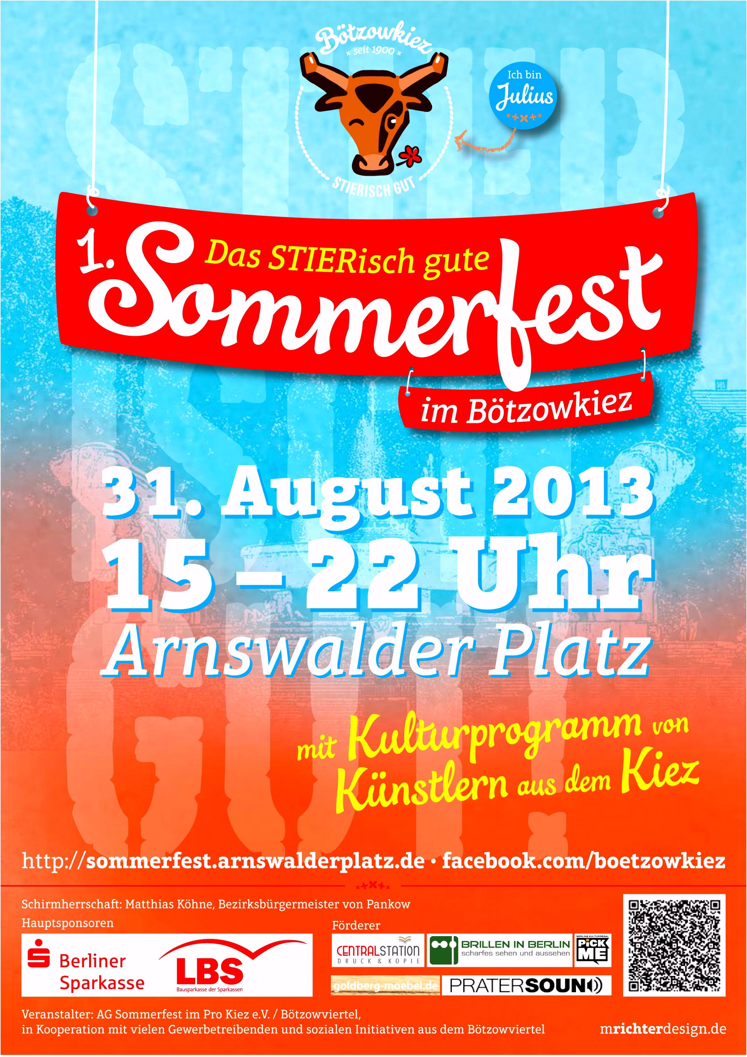Plakat sommerfest Vorlage Gemunkel B7db54ing4 A2xwm2ikv6