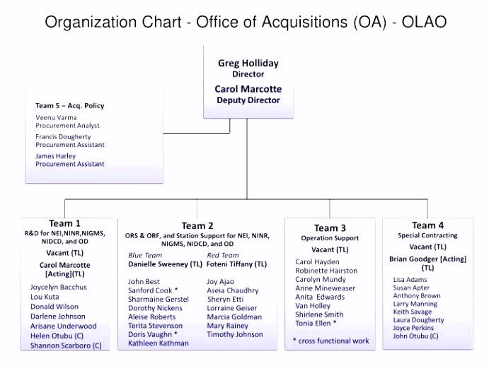 Organization Chart Powerpoint Template Free – Microsoft Powerpoint