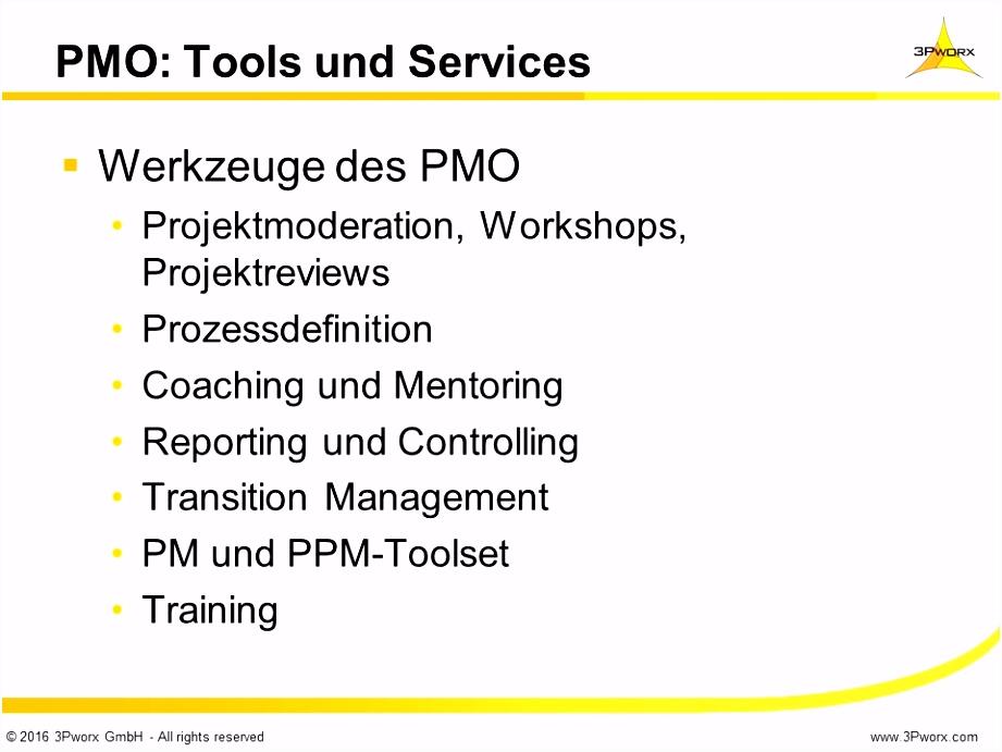 Projektreview Vorlage Entwicklungsmöglichkeiten Und Szenario Betrachtungen Im Pmo It Q3ky12cfa0 U0qc62vbq2