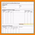6 Spesenabrechnung Excel Vorlage
