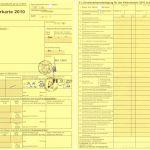 10 Steuererklarung Vorlage