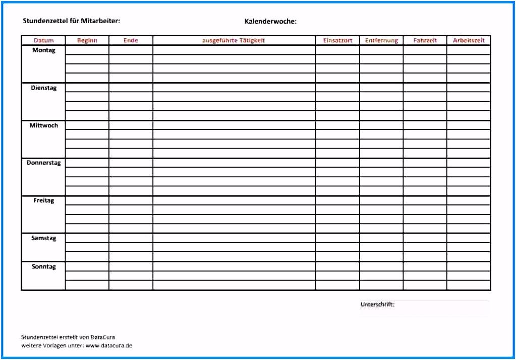 Vorlage Stundenzettel Luxury Excel Zeiterfassung Vorlage – Xua