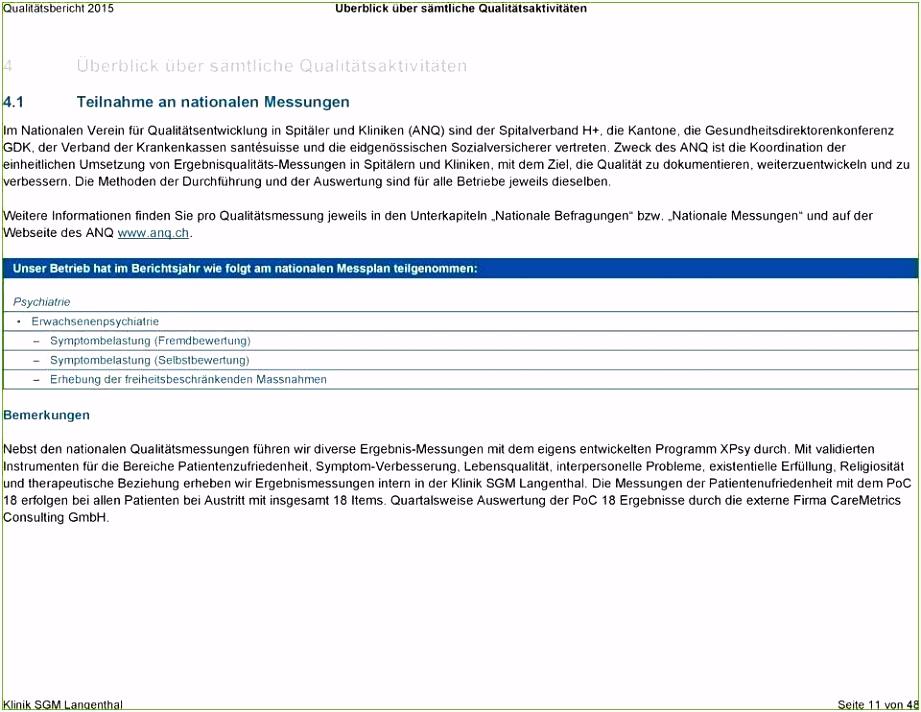 Qualitätsbericht Vorlage 32 Bewundernswert Aktien Sie Müssen