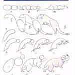 9 Tierzeichnungen Vorlagen