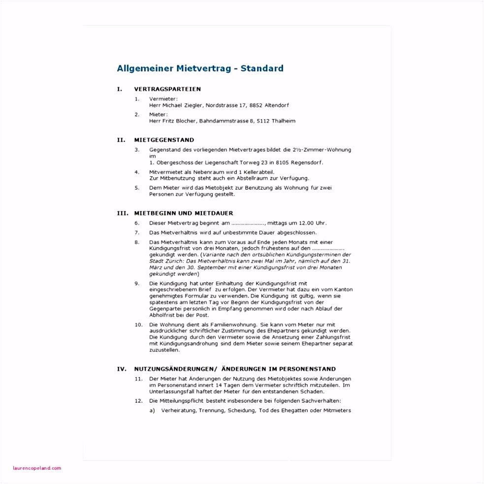 Entlassung Mietvertrag Muster Vorlagen