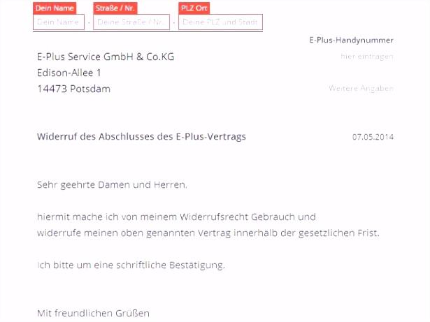 Kündigung Vodafone Handyvertrag Beispiele Besten Der Handyvertrag