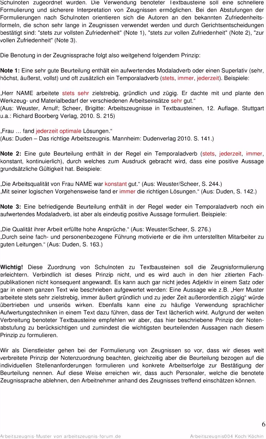 Arbeitszeugnis Muster von arbeitszeugnis forum Arbeitszeugnis004